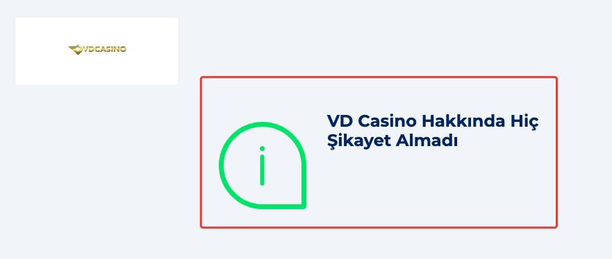 VDCasino, yazılımsal altyapısı ile % 100 güvenilir bir casino sitesidir.